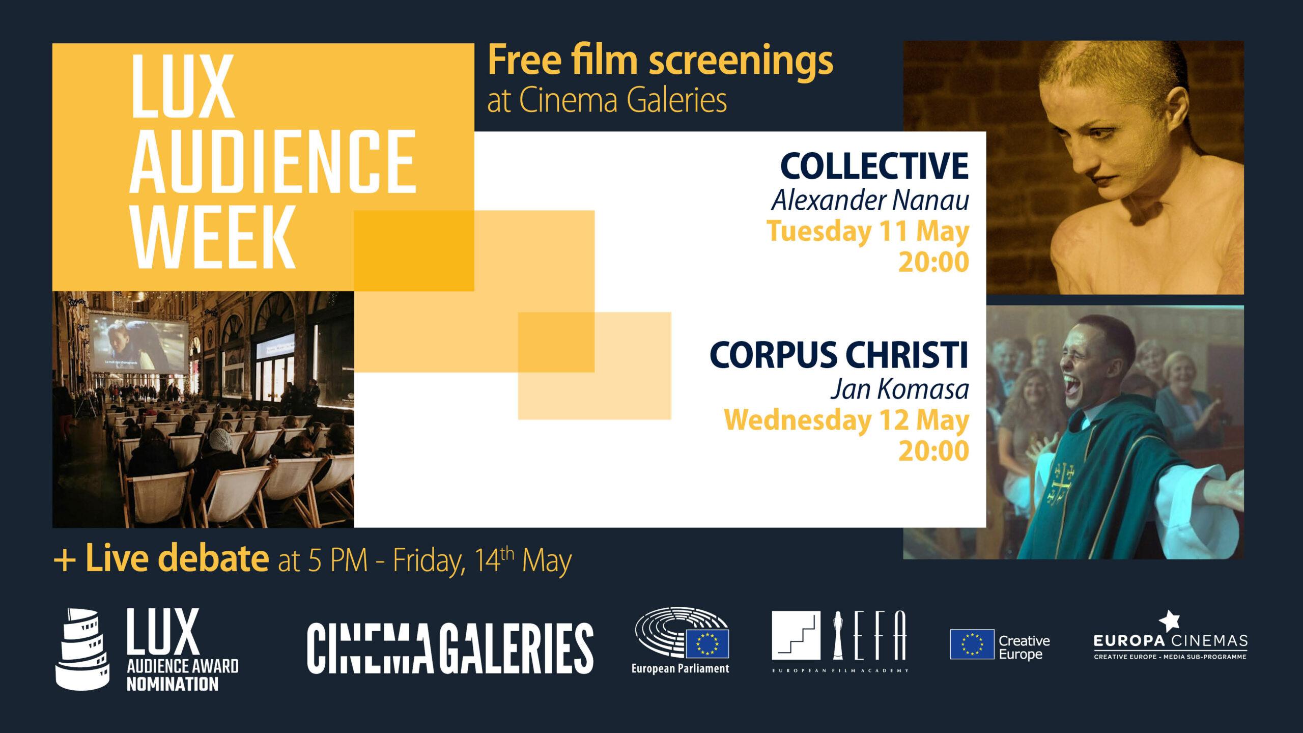 Lux Audience Week - Cinema Galeries